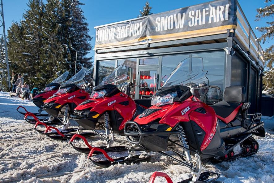 Szykujcie skutery śnieżne! Zbliża się zima